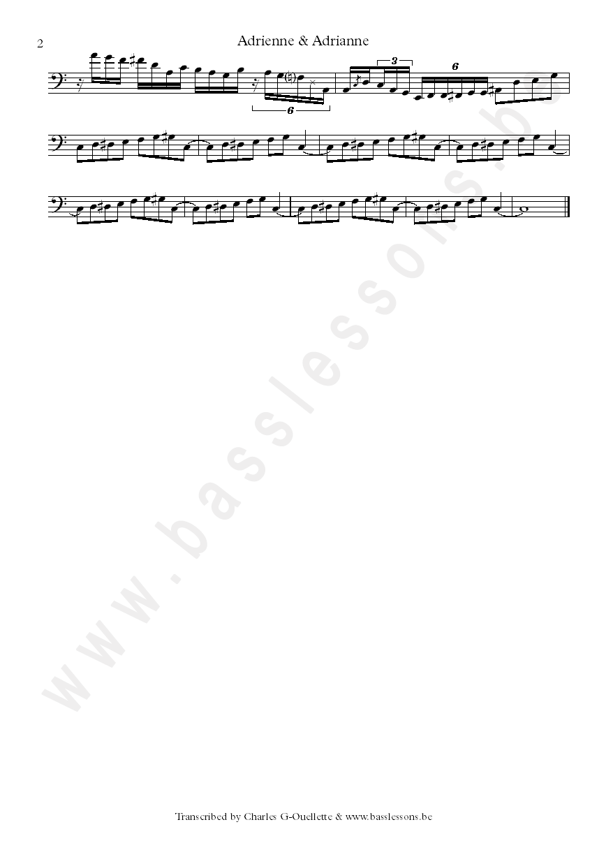 Vulfpeck sheet music