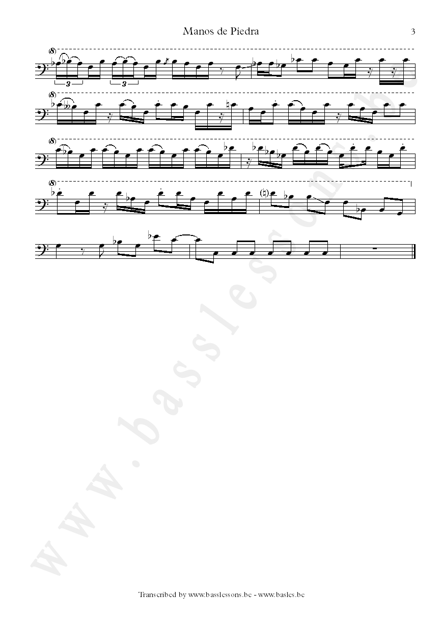Jeff berlin sheet music