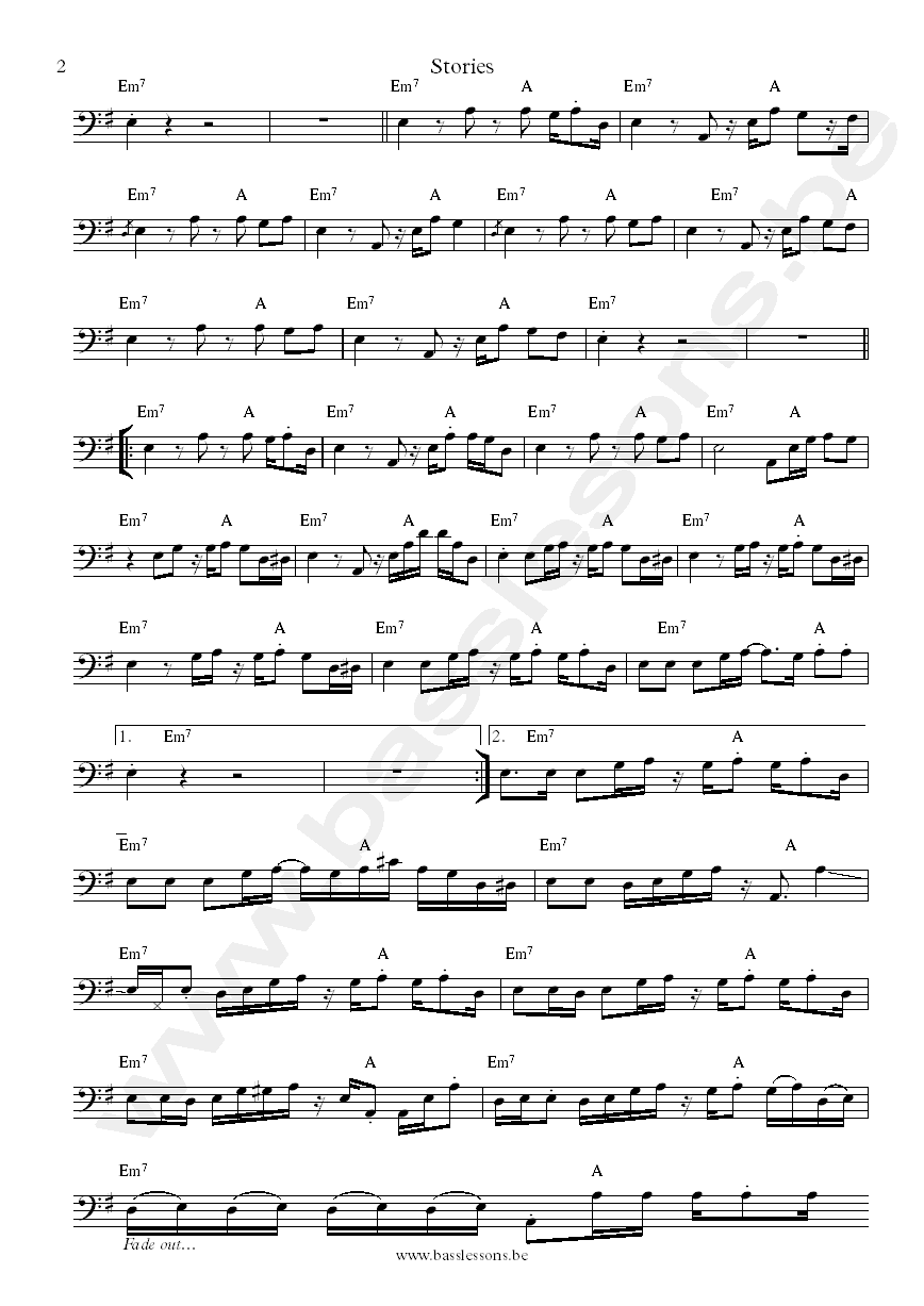 Chakachas sheet music